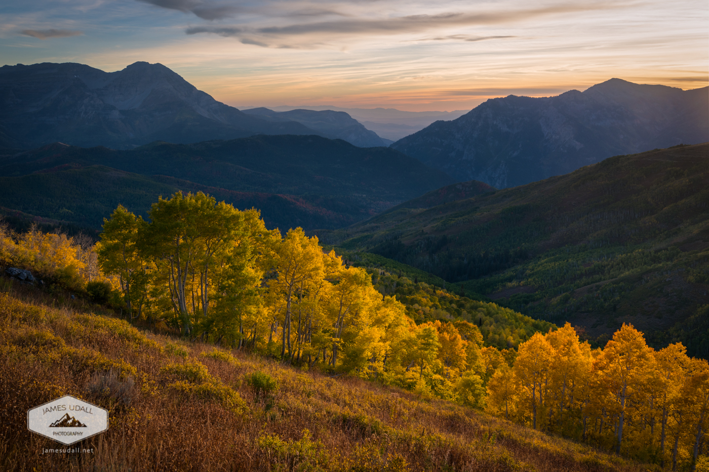 Utah S Wasatch In The Fall Is Golden James Udall