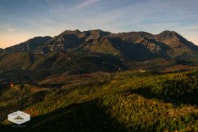 Moonlit Mount Timpanogos