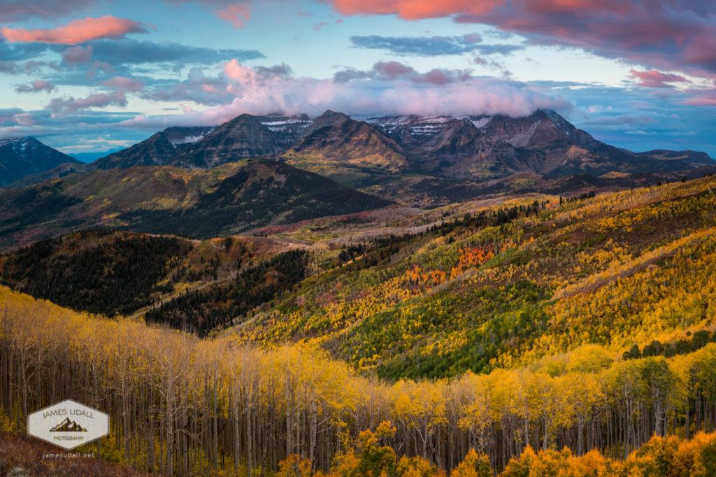 Sunrise View of Mount Timpanogos