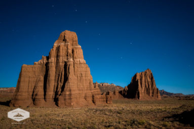 Big Dipper over Capitol Reef National Park