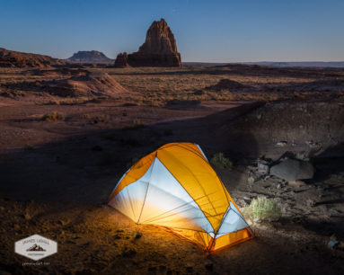 Camping in Cathedral Valley
