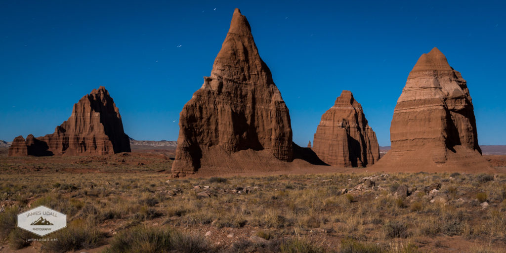 Monoliths at Night
