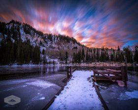 Early Snow at Silver Lake