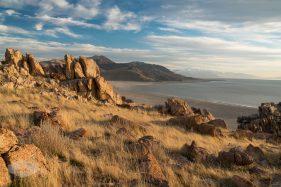 Antelope Island during Golden Hour