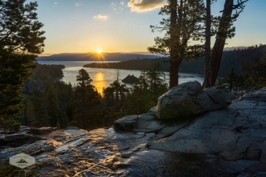 Sunrise at Lake Tahoe