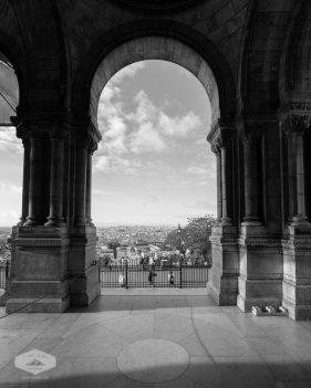 Arch at Sacre Coeur