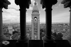 Bell Tower at Sacre Coeur