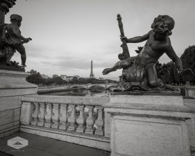 Sculptures on Pont Alexandre III