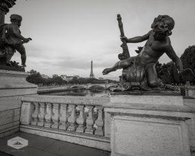 Sculptures on Pont Alexandre III
