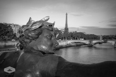 Sculpture on Pont Alexandre III