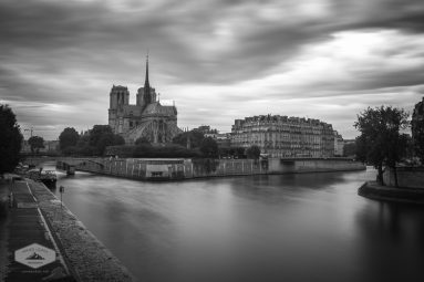 Cloudy Day on the Seine