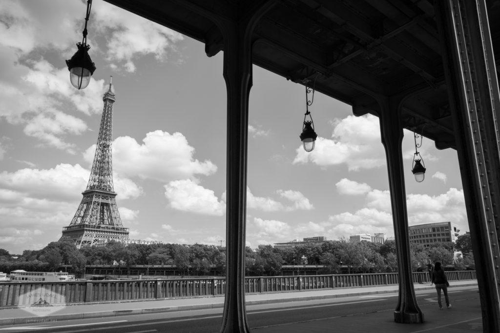 Eiffel Tower From Pont de Bir-Hakeim