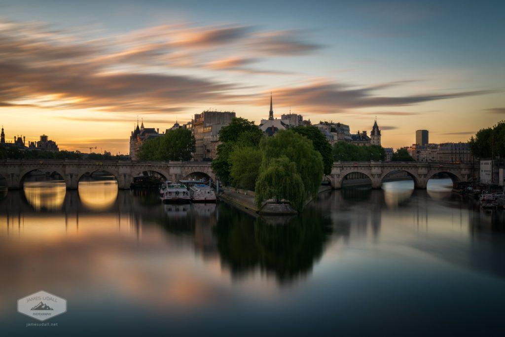 Sunrise on the Seine