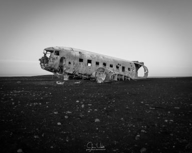 Abandoned Plane on Beach