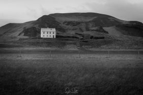 Lone House in Iceland
