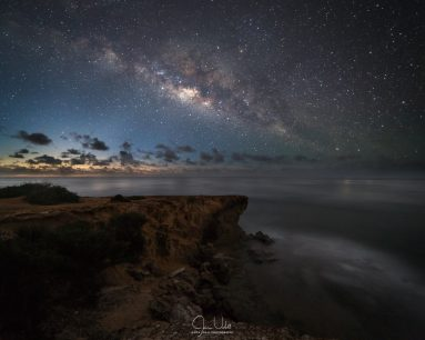 Milky Way Over Kauai Coast