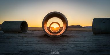 Sun Tunnel Solstice