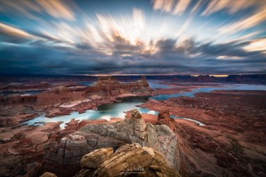 Cloudy Morning at Lake Powell