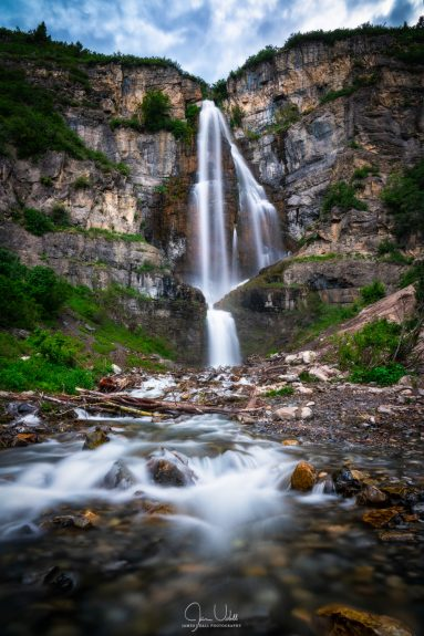 Waterfall in the Wasatch