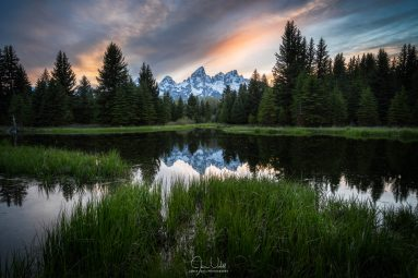Spring Sunset in Grand Teton National Park